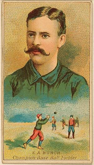 Ernie Burch - Image: Ernie Burch, outfielder, Brooklyn Trolley Dodgers, 1888