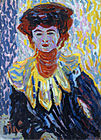 Ernst Ludwig Kirchner - Doris with Ruff Collar.jpg