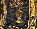 Escudo da Galiza no primeiro tríptico de Jan van Battel sobre Carlos V (1516-1517).jpg