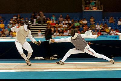 [JO 2008] Sports de combat - Escrime Homme 400px-Esgrima_Jogos_Panamericanos_1_14072007