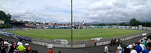 2017–18 Liga FPD - Image: Estadio Allen Riggioni Suarez