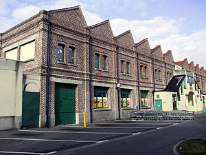 Étaples - The old rope walk (rope-making works)