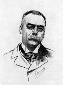 Portrait of Eugène Grasset, from Joseph Uzanne