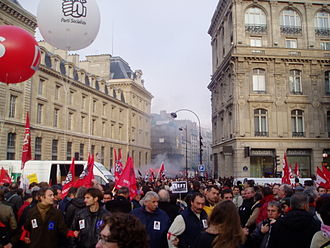 European Social Forum - The demonstration at the ESF in Paris 2003