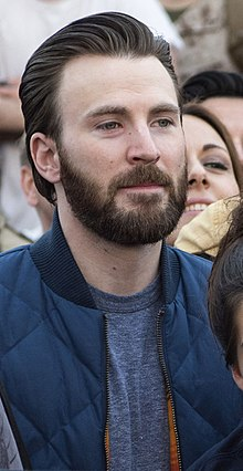 Chris Evans - the cool, hot, actor, director, with German, Irish, Scottish, English, Welsh, roots in 2021
