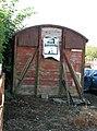 Ex-railway goods van in farmyard - geograph.org.uk - 1501563.jpg