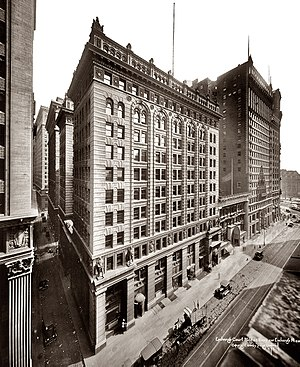 52 Broadway - The building in 1920