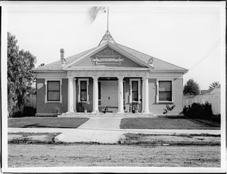 Adrian John Ebell - Ebell Club house in Los Angeles, ca.1905
