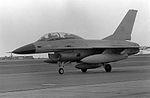 F-16A 75-0752 at Alconbury Jan 1979.jpg
