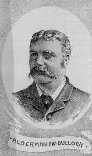 Frederick Bullock - ca. 1880