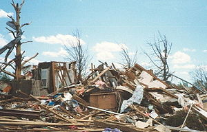 Fujita scale - F3 damage example