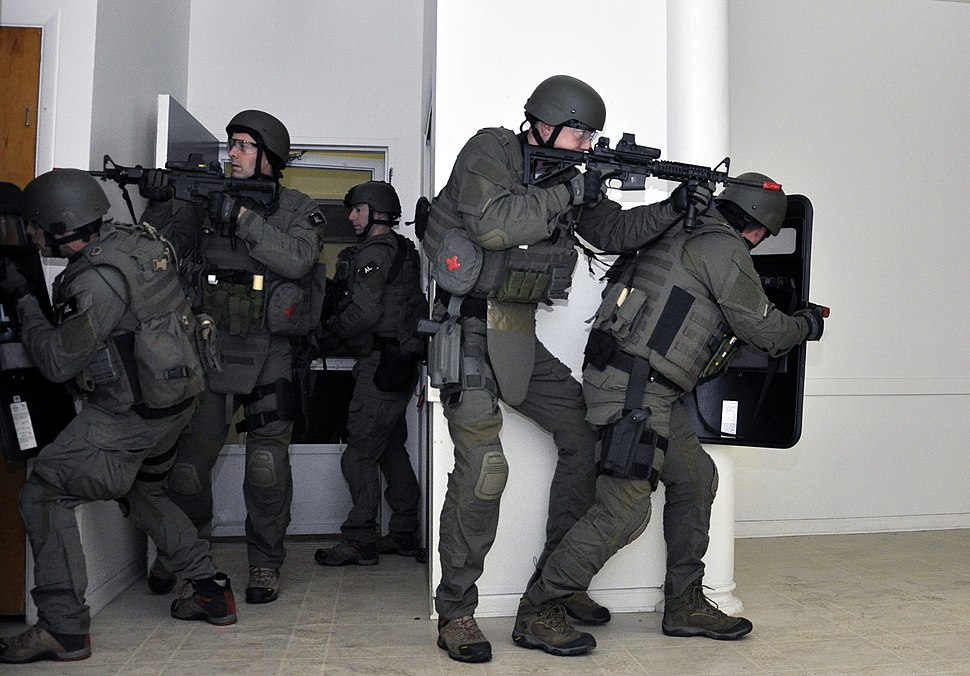FBI SWAT team Watervliet Arsenal