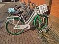 FC Groningen bicycle, Winschoten (2018).jpg