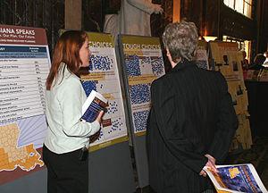 Baton Rouge, LA, February 8, 2006 -- A display...