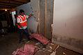FEMA - 45062 - Wall demolition at Rocky Boy Indian Reservation in Montana.jpg