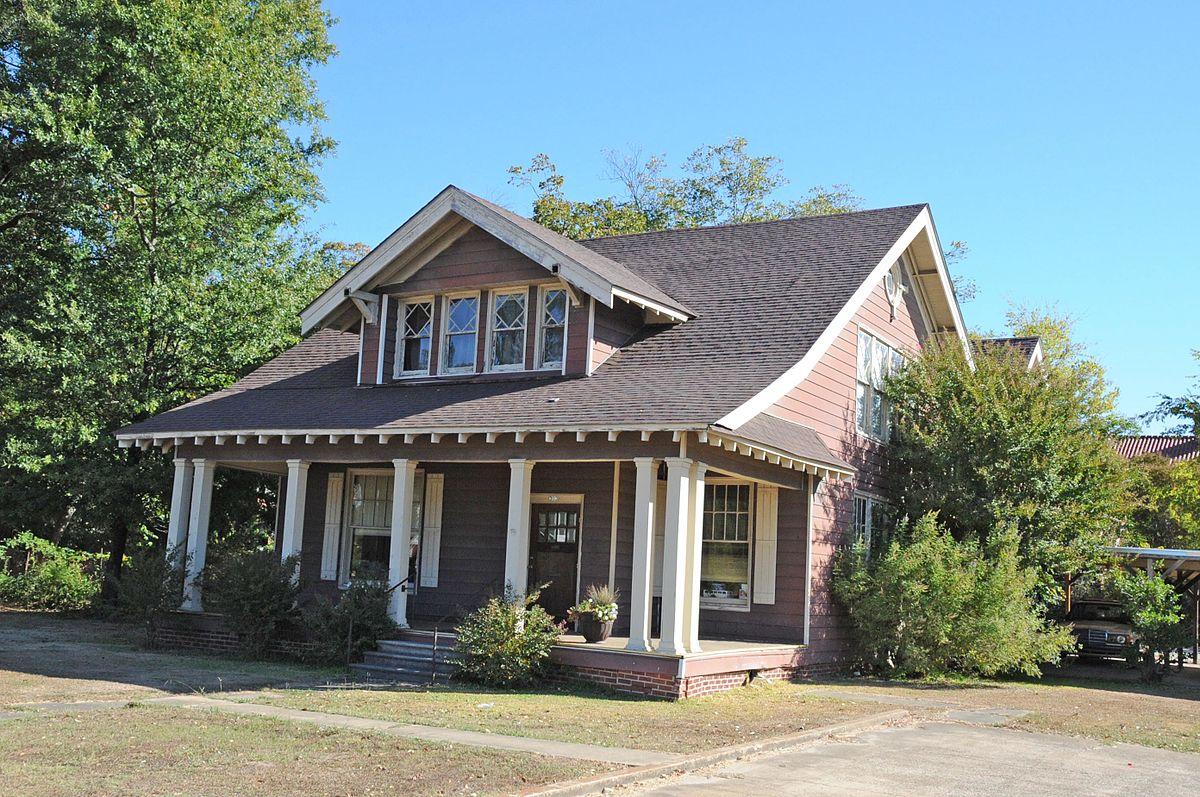 Two Story Craftsman Foster House 303 North Hervey Street Hope Arkansas