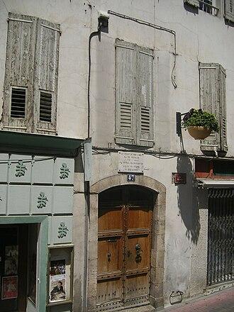 Bienvenu de Miollis - Bienvenu de Miollis's residence at 47 Rue De L'Hubac Digne, France