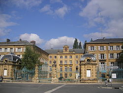 Prefecture building of the Ardennes department, in Charleville-Mézières