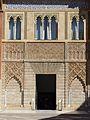 Fachada del palacio de Pedro I, Sevilla, España, 2017 05.jpg