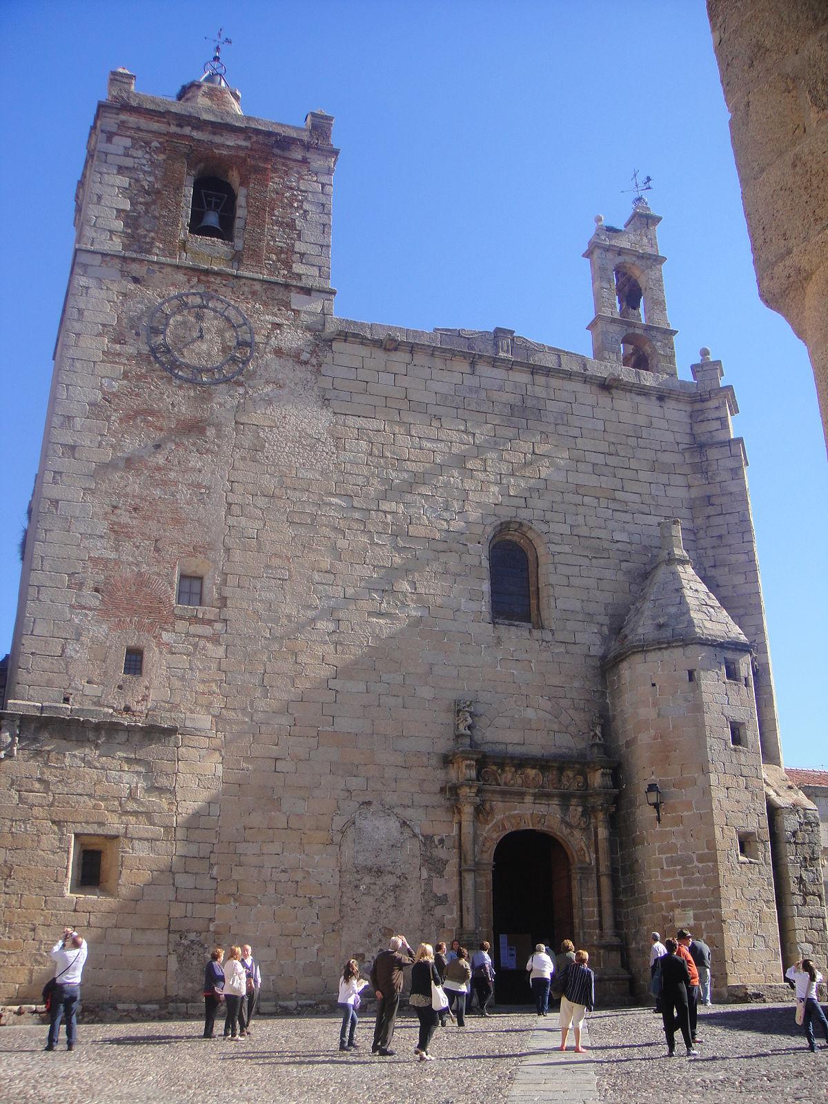 San Mateo Ca >> Iglesia de San Mateo (Cáceres) - Wikipedia, la enciclopedia libre