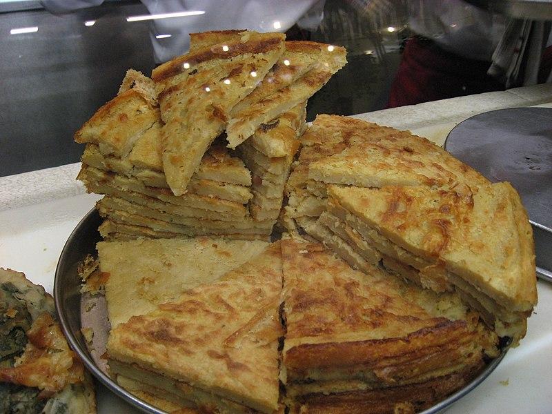 Ricette toscane torta di ceci o cecina for Ricette toscane