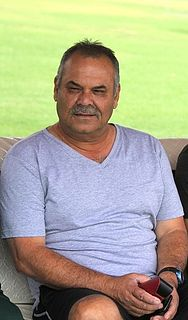 Dav Whatmore Australian cricketer and coach