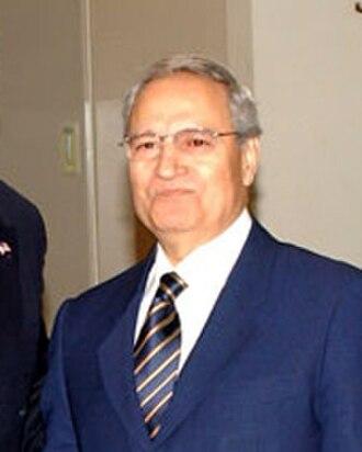 Farouk al-Sharaa - Image: Farouk Shara