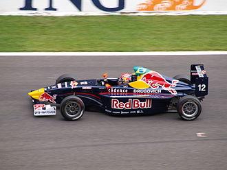 Felipe Nasr - Felipe Nasr driving at Spa-Francorchamps for EuroInternational.