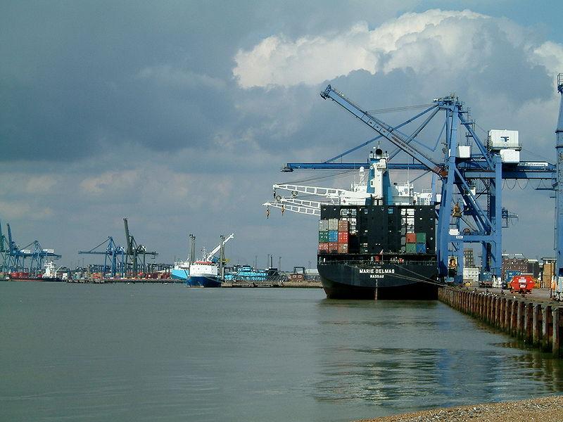Felixstowe port.JPG