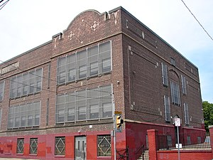 Feltonville, Philadelphia - Feltonville School, September 2010