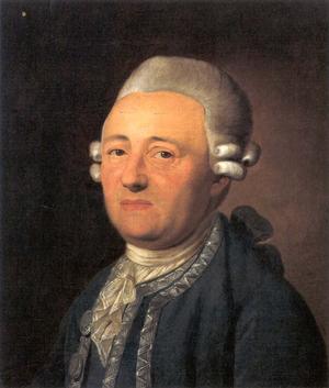 Johann Georg Krünitz - J.G. Krünitz by Ferdinand Collmann, 1795