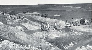Ferreirasdorp - Ferreira's Gold Mine in 1886