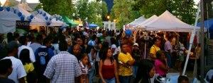 Festival Latinoamericano - View of Festival Vendors