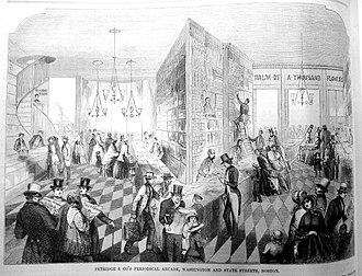 William Pembroke Fetridge - Image: Fetridge Gleas Pict 1852