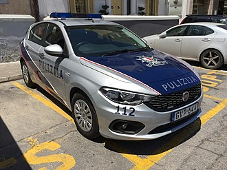 The Malta Police Force - Police District vehicle