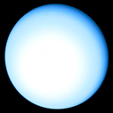 File-Uranus, Earth size comparison without Earth