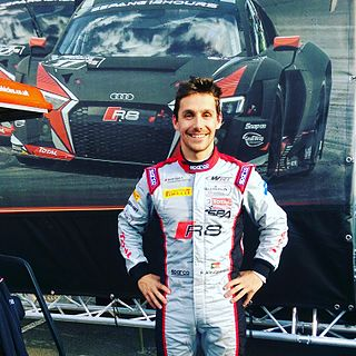 Filipe Albuquerque racing driver for Audi in the World Endurance Championship