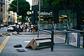 Filming a disaster scene at Wilshire and Hope in Los Angeles, California 05.jpg