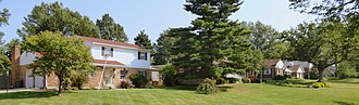 Finneytown, Ohio - Residential area in Finneytown