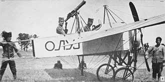 "World War I - Serbian Army Blériot XI ""Oluj"", 1915"
