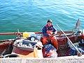 Fisherman in Preveza Port (2009).JPG