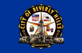 Flag of Beverly Hills, California