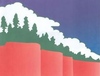 Flag of Paradise, California
