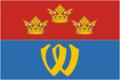 Flag of Vyborg rayon (Leningrad oblast).png