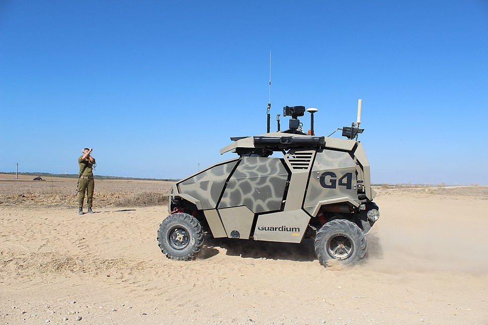 Flickr - Israel Defense Forces - Israeli Made Guardium UGV (1)