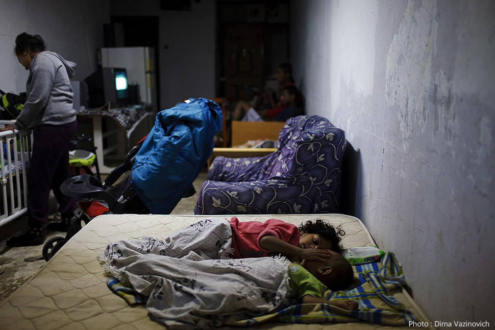 Flickr - Israel Defense Forces - Israelis Hiding in a Bomb Shelter