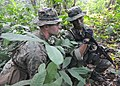 Flickr - Official U.S. Navy Imagery - A U.S. 1st Lt. and a Malaysian soldier work together during an ambush exercise for Cooperation Afloat Readiness and Training Malaysia 2012..jpg