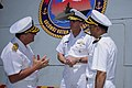 Flickr - Official U.S. Navy Imagery - The CNO talks to a Turkish Naval Fleet Commander about the ship's capabilities after a pierside tour at Golcuk Naval Base..jpg