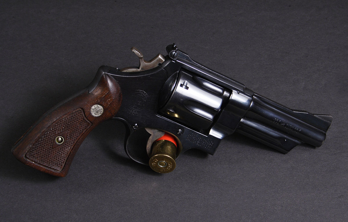 Smith & Wesson Model 28 - Wikipedia