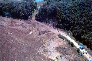 United Airlines Flight 93 - Flight 93 crash site